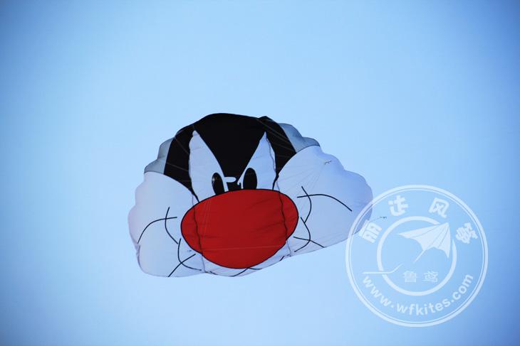[해외]만화 풍선 유방 카이트 서핑 패러 글라이더 스턴트 연 날리기 윈드 서핑 쿼드 라인 스턴트 카이트 해변 장난감/cartoon inflatable Weifang kite kitesurf paraglider stunt kite flying windsock ripsto