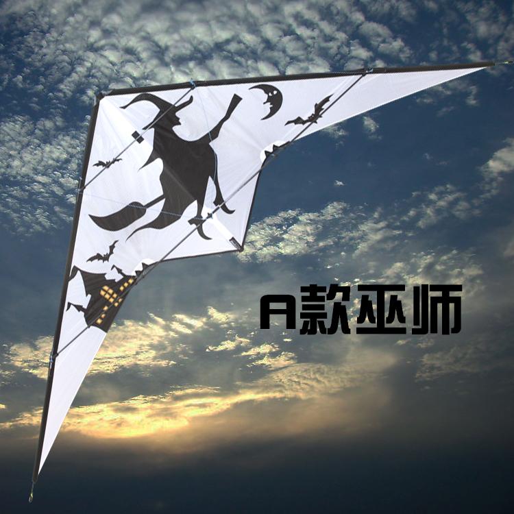 [해외]듀얼 라인 스턴트 박쥐 kitesurf pipas voadores 스턴트 연 windsock 날씨 베인 델타 연 성인 volant 날고 스피너 장난감/dual line stunt bat kitesurf pipas voadores stunt kite windsoc