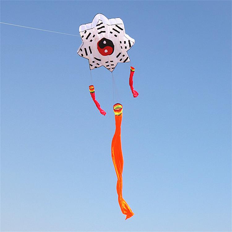 [해외]3D 어 vlieger 연 팽창 식 유방 연 8 다이어그램 연 큰 재미 공장 제조 업체 야외 장난감 비치 바/3D chinese vlieger kites inflatable soft Weifang kite eight diagrams kite large fun f