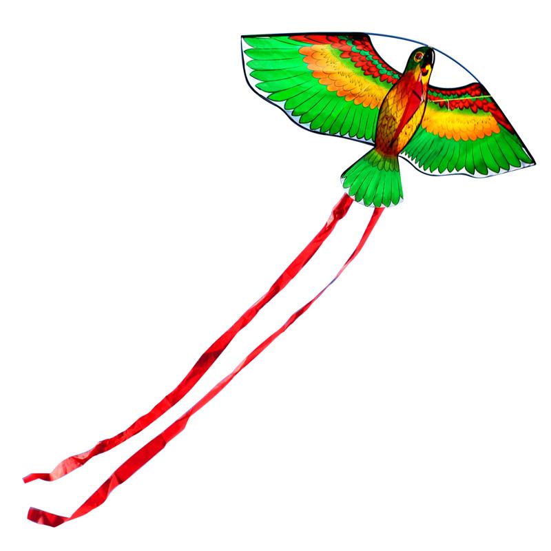 [해외]야외 오락 스포츠 110cm / 43inches 앵무새 연 / 동물 연 Handle & amp; 라인 좋은 비행 선물/Outdoor Fun Sports New Arrive 110cm/43inches Parrot Kite/ Animal KitesHandle