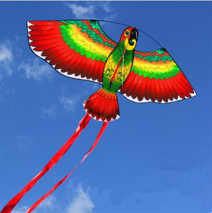 [해외]New Arrive Outdoor Fun Sports 43inch 앵무새 연 / 조류 KitesHandle 및 어린이를라인 Good Gifts/New Arrive  Outdoor Fun Sports  43inch Parrot Kite /Bird KitesHand