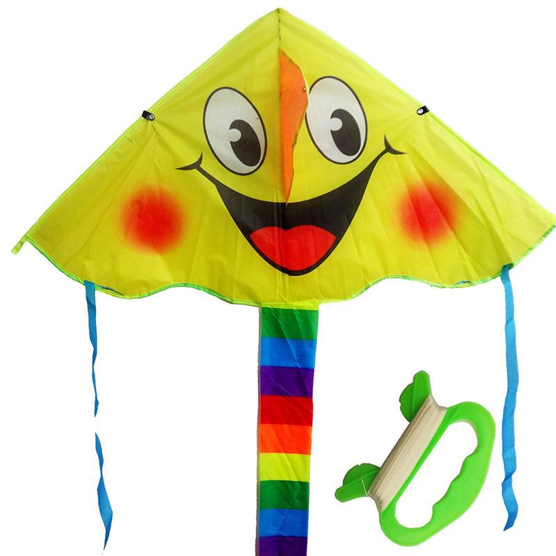 [해외]ECRODAC 2017 새로운 디자인 웃는 얼굴 스턴트 카이트 만화 연 어린이를최고의 장난감 유방 연/ECRODAC 2017 New Design  Smiling Face Stunt Kite  Cartoon Kites For Kids best toys weifan