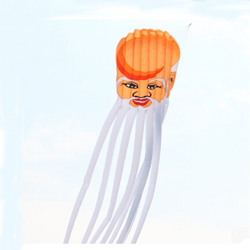 [해외]?고품질의 큰 장수 토끼 연 큰 연 연선 세탁 립 스톱 나일론 패브릭 연 흰 수염/ high quality large longevity rabbit kite large soft kite line laundry ripstop nylon fabric kite whi