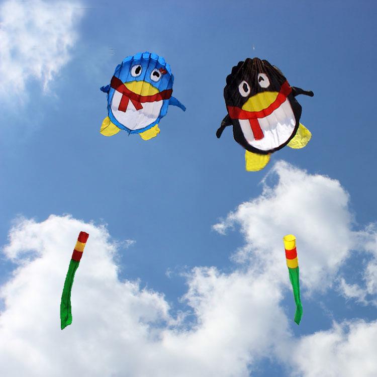 [해외]?높은 품질 2m 펭귄 연 qq 프린스 소프트 카이트 핸들 웨이 팡 연 문자열 파워 프로 hcxkite 공장/ high quality 2m penguin kite qq prince soft kitehandle weifang kite string power pro