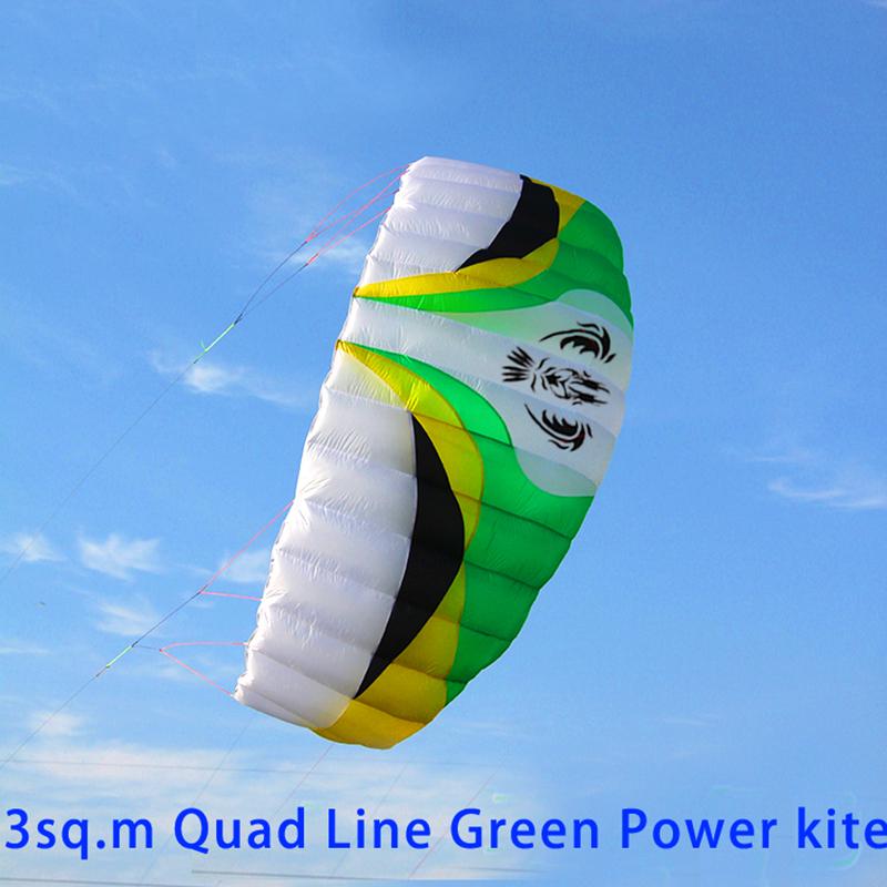 [해외]?고품질의 큰 사분의 선 전력 카이트 surfhandle 라인 연 파라 포일 연 스포츠 립 스톱 나일론 패브릭 연/ high quality large quad line power kite surfhandle line kite parafoil kite sports