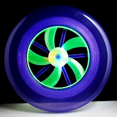 [해외]20pcs / lot 플라잉 디스크 화살표 다채로운 스핀 LED 빛 야외 장난감 비행 접시 디스크 프리즈 비 UFO 아이 장난감 YH373/20pcs/LOT Flying Disk Arrow Colorful Spin LED Light Outdoor Toy Flyi