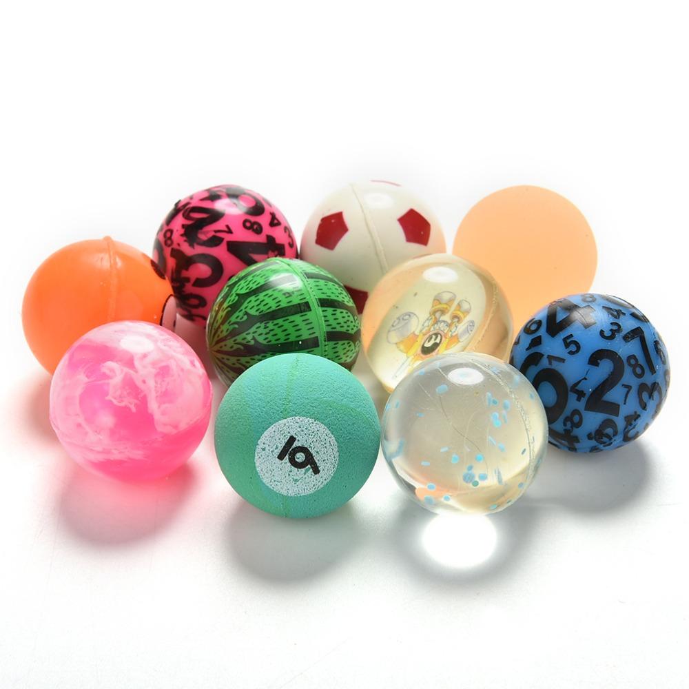 [해외]10pcs 혼합 작은 튀는 볼 고무 장난감 볼 소프트 탄성 저글링 볼 어린이 야외 스포츠 게임/10pcs Mixed Small Bouncing Ball Rubber Toy Balls Soft Elastic Juggling Balls Kids Outdoor Spo