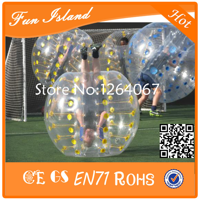[해외] 6PCS + 1Pump 인간 풍선 범퍼 거품 공, 스포츠 범퍼 공/Free shipping 6PCS+1Pump Human Inflatable Bumper Bubble Ball,Bumper Ball For Sport