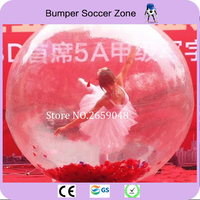 [해외] 2m 클리어 댄스 볼 풍선 물 풍선 볼링 풍선 햄스터 볼 Zorb 물 공/Free shipping 2m Clear Dance Ball Inflatable Water Walking Ball Inflatable Hamster Ball Zorb Water Ball