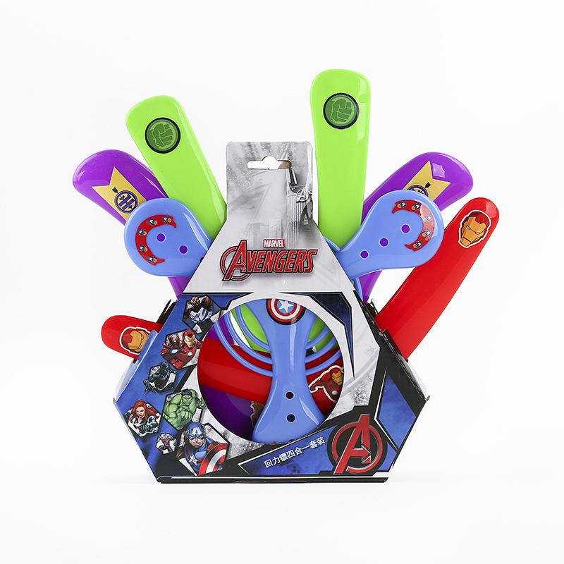 [해외]디즈니 마블 어벤져 스 4pcs / set 다른 Boomerangs 어린이 크리스마스 선물 야외 재미 스포츠 완구 어린이 소년 운동/Disney Marvel Avengers 4pcs/set Different Boomerangs Kids Xmas Gifts Out