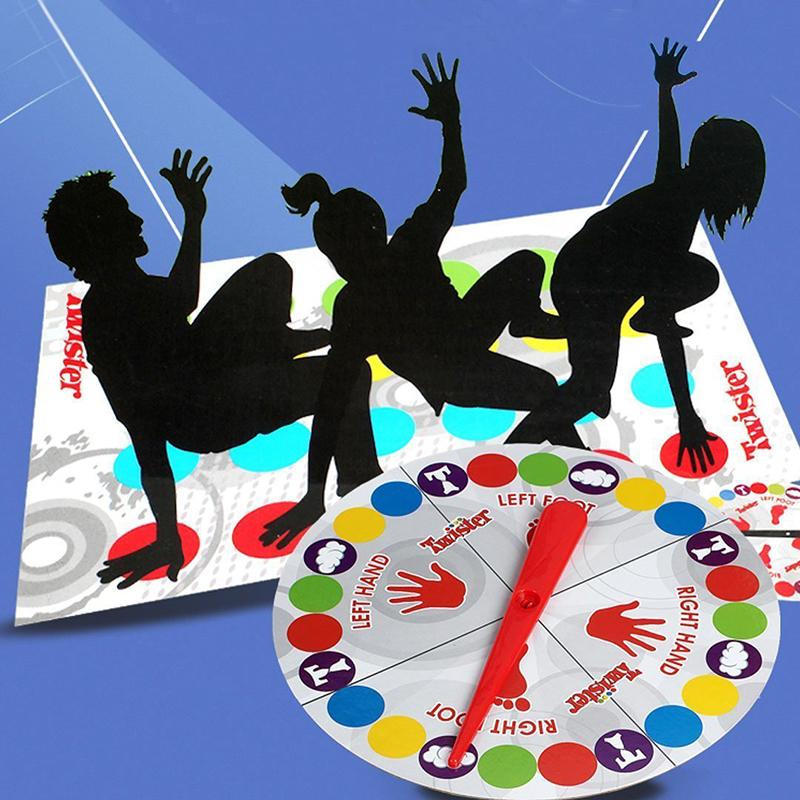 [해외]클래식 스포트 바디 트위스터는 대화 형 게임 공예 그룹 이동 파티 피크닉 재미있는 야외 스포츠 완구 재미 보드 게임 이동/Classic Spot Body Twister Moves Interactive Game Craft Group Party Picnic Fun