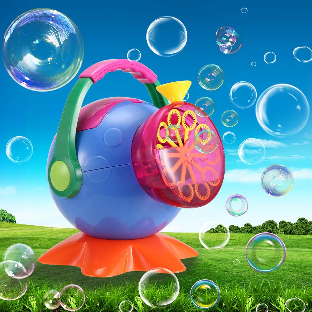 [해외]비누 거품 기계 야외 ABS 플라스틱 거품 송풍기 어린이 FJ88에 대 한/Soap Bubble Machine Outdoor ABS Plastic Bubbles Blower Toys for Kids FJ88