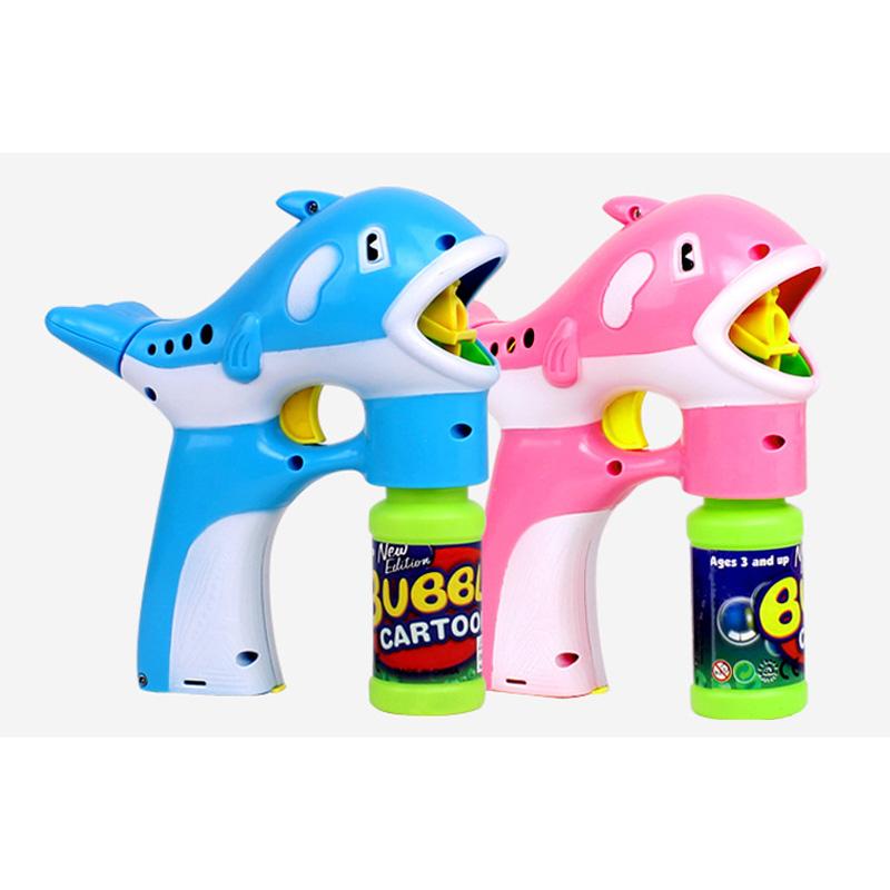 [해외]돌고래 자동 깜박이 버블 음악 장난감 장난감 풍선 비누 아이 거품 장난감 FJ88/Dolphin Automatic Flashing Bubble Music Blowing Machine Toy Colorful Soap Kid Bubbles Toys FJ88