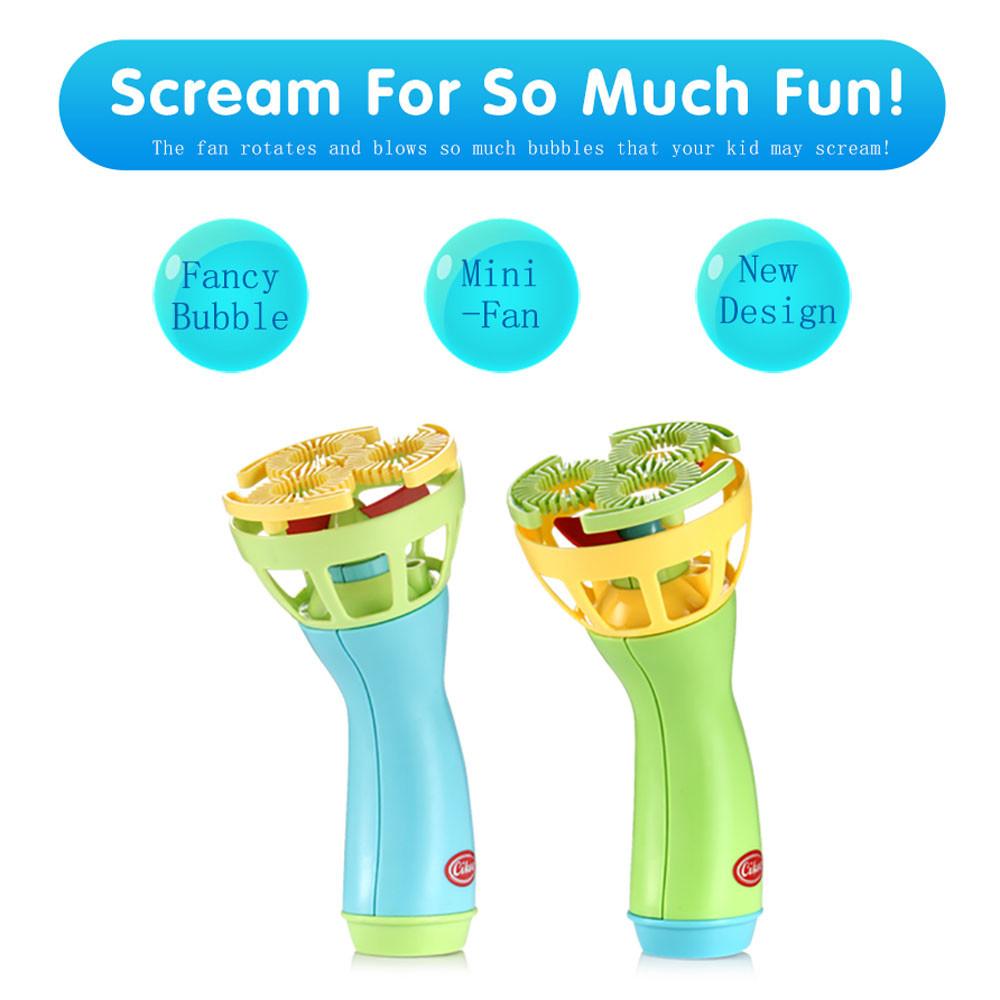 [해외]여름 재미 있은 마술 거품 송풍기 기계 거품 메이커 소형 팬 아이 야외 장난감 어린이 Toys18Jan16/Summer Funny Magic Bubble Blower Machine Bubble Maker Mini Fan Kids Outdoor Toys Child
