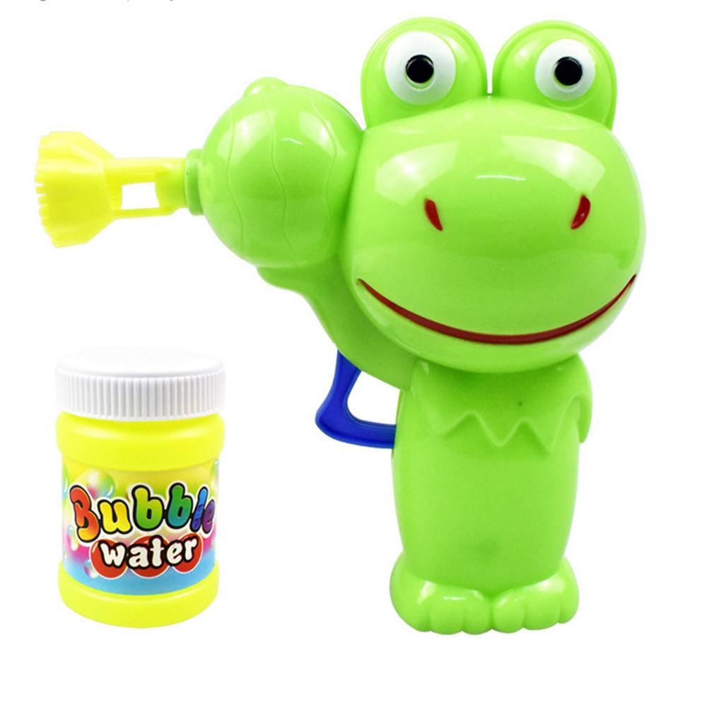 [해외]버블 건 세트 어린이 교육 완구 재미 만화 동물 버블 장난감 버블 머신 야외 게임 아이들을A1/Bubble Gun Set Children Educational Toys Fun Cartoon Animal Bubble Toy Bubble Machine Outdoor