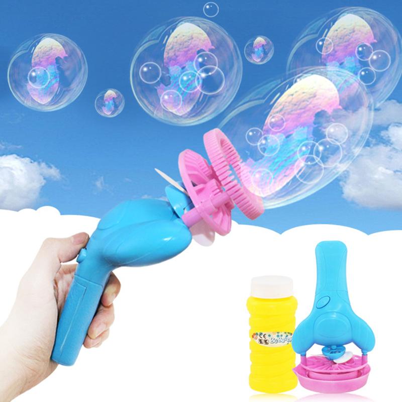[해외]어린이 전기 돌고래 버블 건 어린이 야외 더블 버블 팬 장난감 선물 어린이 버블 장난감 비누 버블 장난감 기계/Child Electric Dolphin Bubble Gun Kids Outdoor Double Bubble Fan Toy Gift for Childr