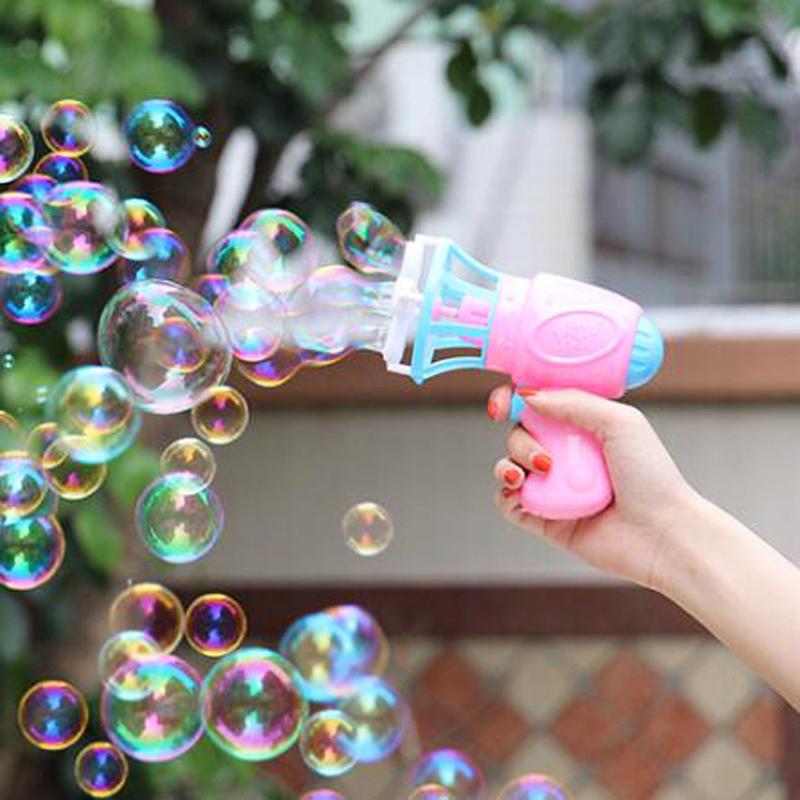 [해외]1Pc 어린이 ABS 전자 자동 거품을 낳는 기계 어린이야외 장난감 안전한 Nontoxic 거품 여름 게임 사랑스러운 선물/1Pc Kids ABS Electric Automatic Blowing Bubbles Machine Outdoor Toys for Chil