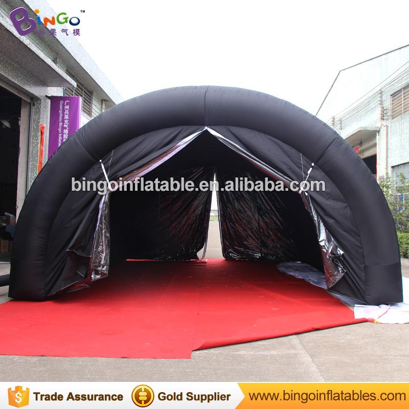 [해외]블랙 6 * 4.5 * 3m 야구 풍선 스포츠 터널 / 연단 stagetenttent에 대 한 풍선 텐트/Black 6*4.5*3m baseball inflatable sports tunnel / inflatable tent for podium stage toy