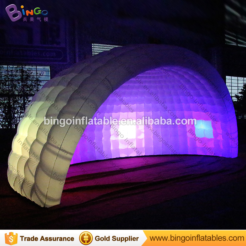 [해외]6x3x4 미터 풍선 이글루 텐트, igloo 풍선 led, 풍선 domeLEDs 장난감 텐트/6x3x4 meters inflatable igloo tent , igloo inflatable led , inflatable domeLEDs toy tents
