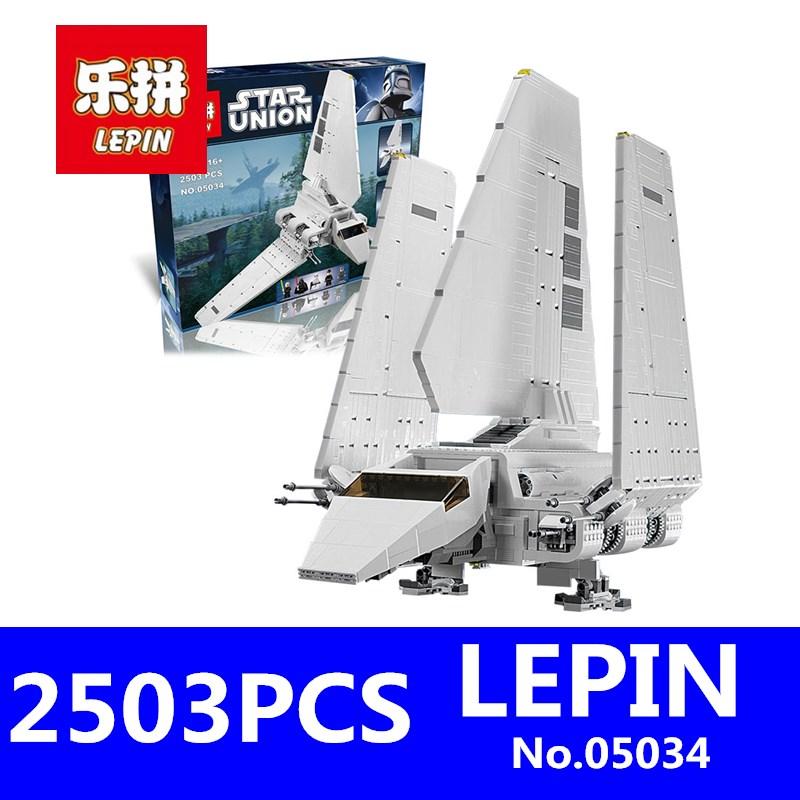 [해외]LEPIN 05034 2503Pcs 스타 MOC 시리즈 전쟁 임페리얼 셔틀 빌딩 블록 벽돌 교육 완구 호환 10212/LEPIN 05034 2503Pcs Star MOC Series Wars Imperial Shuttle Building Blocks Bricks