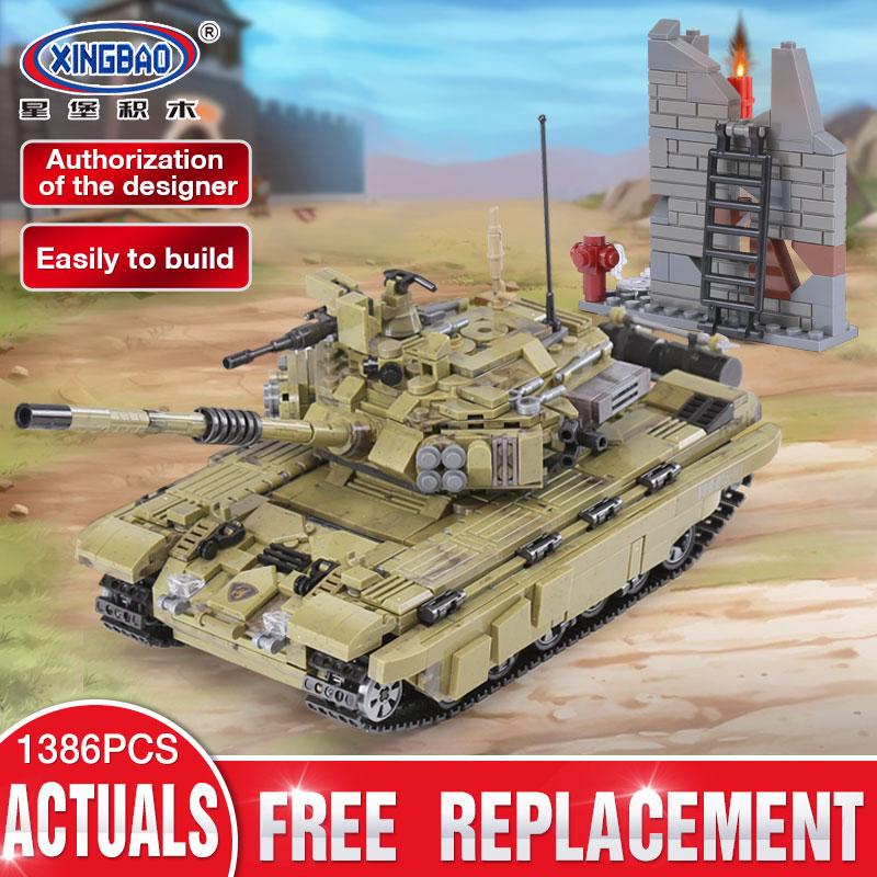 [해외]XINGBAO 06015  1386Pcs 밀리터리 시리즈 전갈 자리 호랑이 탱크 세트 빌딩 블록 벽돌 장난감 교육 크리스마스 선물/XINGBAO 06015 Genuine 1386Pcs Military Series The Scorpio Tiger Tank Set