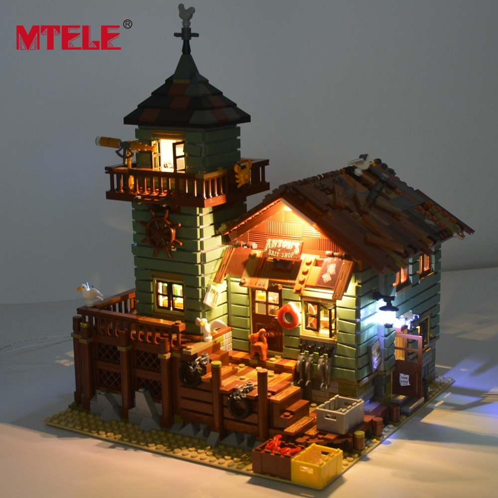 <span style=''>[해외]MTELE LED 조명 키트에 대한 Old Fishing Store Building..</span>