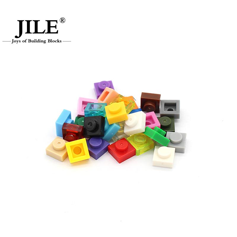 [해외]moc 타일 플레이트 1x1 3024 짧은 조각 DIY 계몽 블록 벽돌 CompatibleAssembles Particles/moc tiles Plate 1x1  3024 Short piece DIY enlighten block bricks CompatibleA
