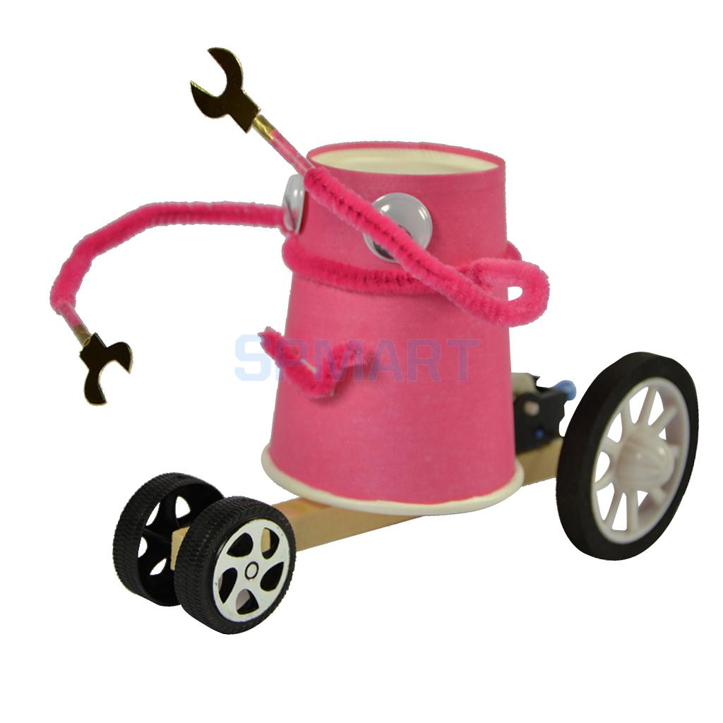 [해외]어린이 과학 실험 키트 만화 자동차 DIY 어셈블리 장난감 교육 완구/Kids Science Experiment Kits Cartoon Car DIY Assembly Toy Educational Toys