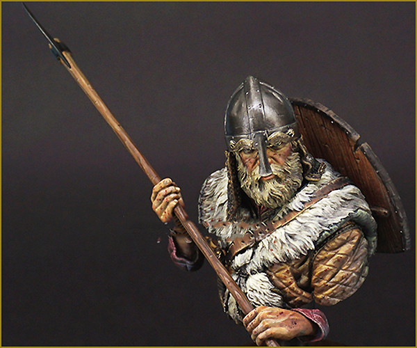 [해외]도색되지 않은 키트 1/10 고대 바이킹 워리어 군인의 흉상 그림 역사적 2 차 대전 수 지형 그림 소형 장난감/Unpainted Kit 1/10  ancient VIKING WARRIOR soldier bust  figure Historical WWII Res