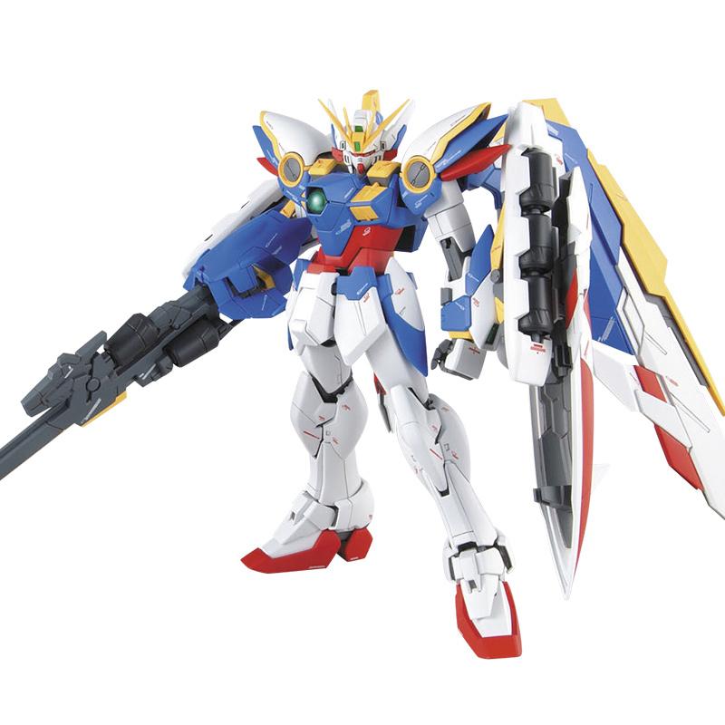 [해외]핫 애니메 MG 1/100 윙 건담 제로 지정 무한 왈츠 Ver. 카 XXXG-00W0 퍼즐 조립 모델 로봇 아이 퍼즐 장난감/hot anime MG 1/100 Wing Gundam Zero Custom Endless Waltz Ver. Ka XXXG-00W0
