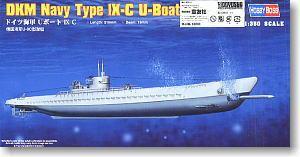 [해외]취미 보스 1/350 저울 모델 83508 독일 해군 IX-C U 보트/Hobby Boss 1/350 scale models 83508 German Navy IX-C U boat