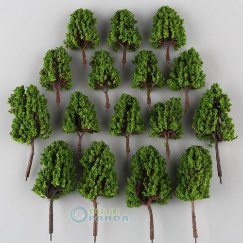 [해외]16 Lot MODEL 철도 하우스 용 그린 파인 트리 공원 경관 풍경 HO SCALE/16 Lot MODEL Green PINE TREE for Railroad House Park Scenery Landscape HO SCALE