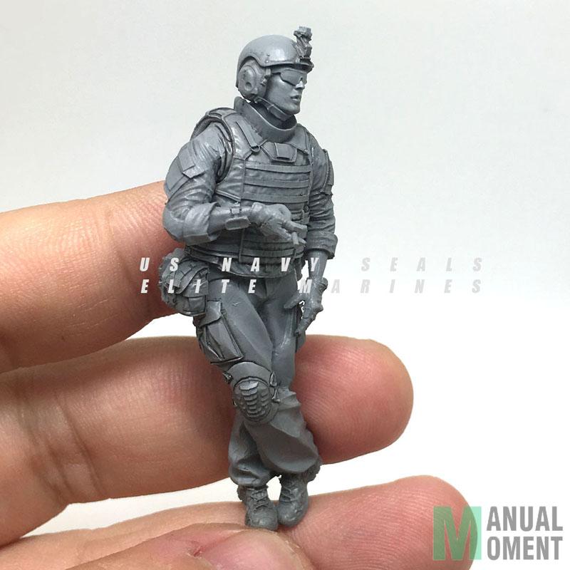 [해외]1/35 현대 미국 육군 기갑 된 군인 수지 모델 피겨 키트 USK-10/1/35 Modern U.S Army Armored  Soldier Resin Model Figure Kit USK-10