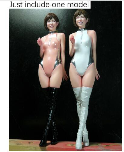 [해외]Unpainted 키트 1/12 높은 130mm 경주 소녀 여름 서 WWII 수 지 그림 미니어처 차고 키트/Unpainted Kit  1/12 high 130mm racing girl summer standing    WWII Resin Figure minia
