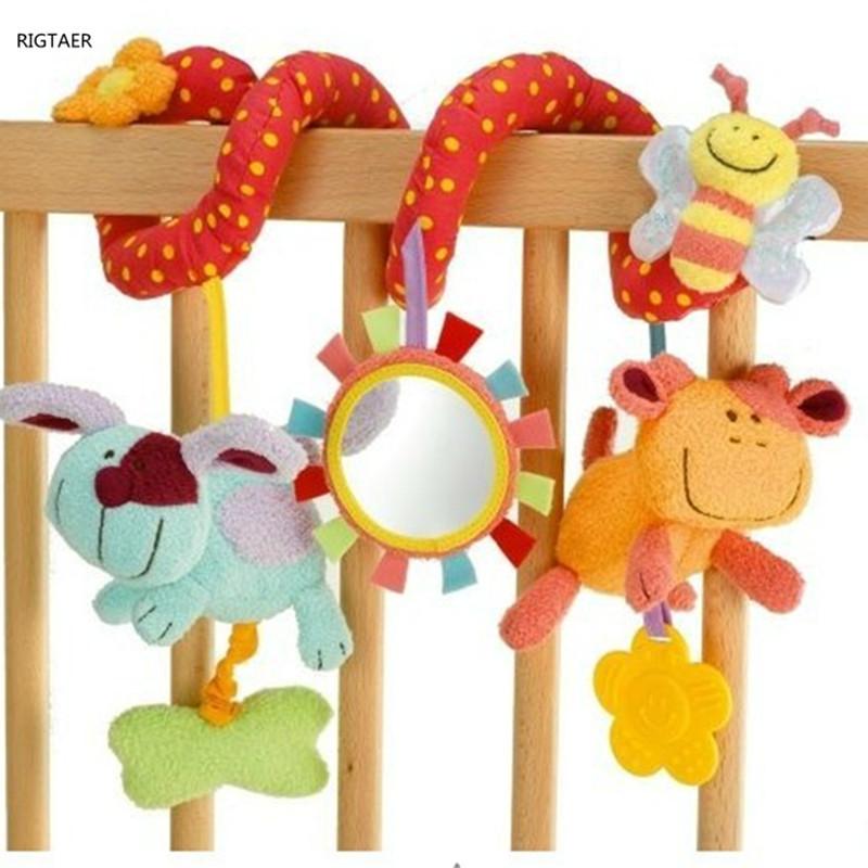 [해외]신생아 소년 소녀 장난감 다용도 자동차 선반 아기 침대 종소리 울리는 침대 유모차 매달려 아기 Rattles 모바일/Newborn baby boy girl toys Multifunctional car lathe around the baby bed bells ri