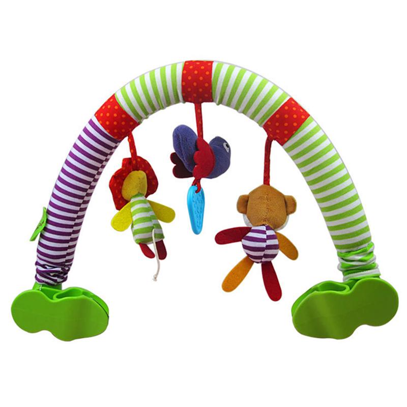 [해외]아기 유모차 / 침대 / 유아용 침대 침대에 장난감을 걸기 유아용 침대 좌석 귀여운 인형 유모차 모바일 선물 82CM 버드 래틀/Baby Stroller/Bed/Crib Hanging Toys For Tots Cots rattles seat cute plush