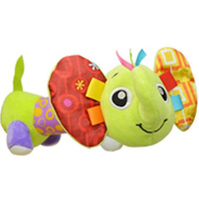 [해외]쏘지 부드러운 아기 봉제 장난감 안전 미러 삐 었어 Crinkle 소리 여러 가지 빛깔의 귀여운 동물 강아지 아기 딸랑이 장난감/Sozzy Soft Baby Plush Toy Safe Distorting Mirror Squeaker Crinkle Sound Mu