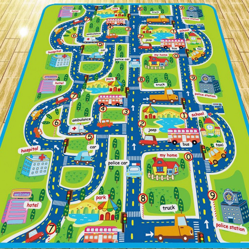 [해외]아이들을도시 도로 카펫 아이들을놀이 매트 카펫 베이비 완구 러그 놀이 퍼즐 매트 개발 Goma Eva Foam mats/City Road Carpets For Children Play Mat For Children Carpet Baby Toys Rugs Deve