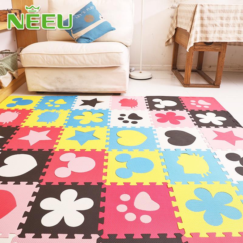 [해외]뉴 에바 거품 아기 놀이 매트 어린이 퍼즐 매트 테이프 tapis 운동 nterlocking Tilesedges/Neeu eva foam baby play mat children puzzles mat tapete tapis enfant exercise nterl