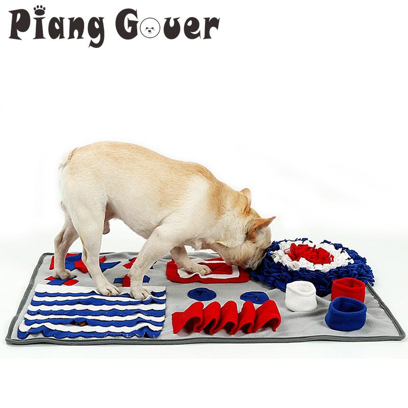 [해외]개 놀이 매트 Snuffle 훈련 먹이를 먹는 매트 코 작업 담요 애완 동물 완구 느린 먹이 매트/Dog Play Mat Snuffle Training Feeding Foraging Mat Nose Work Blanket Pet Toys Slow Feeding