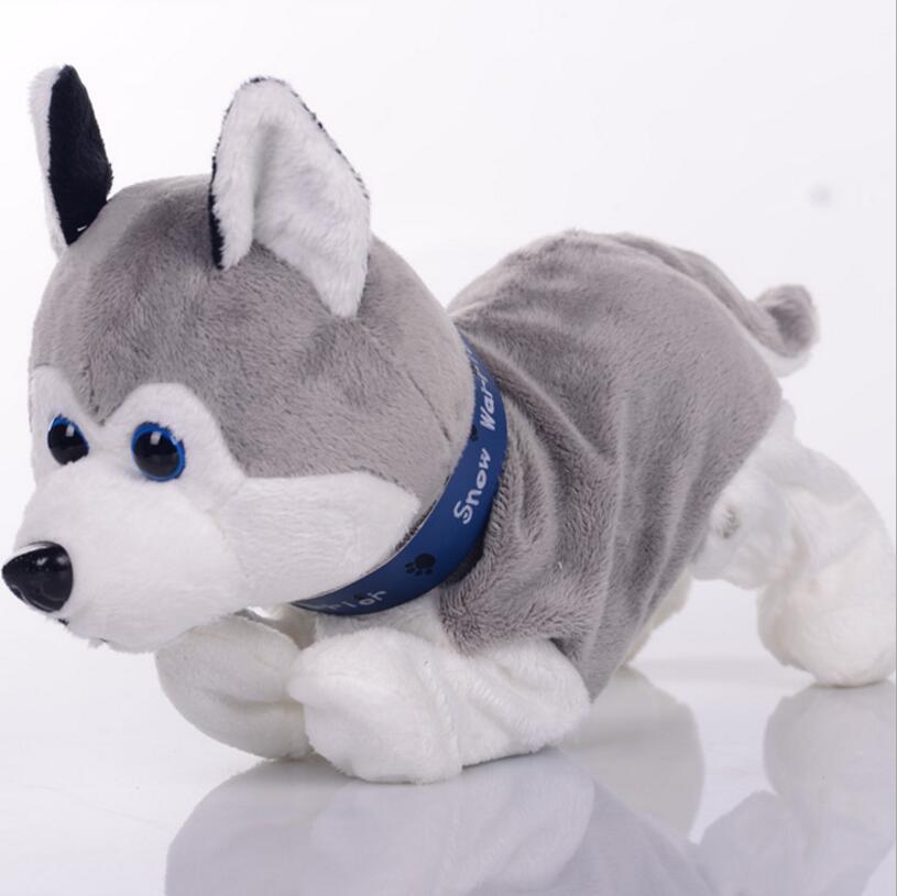 [해외]전자 애완 동물 상호 작용 장난감 소리 제어 개 인형 부드러운 장난감 껍질 스탠드 도보 아기 로봇 인형 인형 스마트 개 완구/Electronic Pets Interactive Toy  Sound Control Dog Dolls Soft Toys Bark Stan