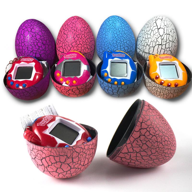 [해외]Tamagochi 전자 애완 동물 장난감 공룡 계란 텀블러 가상 사이버 디지털 애완 동물 전자 애완 동물 휴대용 게임 애완 동물 기계 장난감 선물/Tamagochi Electronic Pets Toys Dinosaur Eggs Tumbler Virtual Cyb