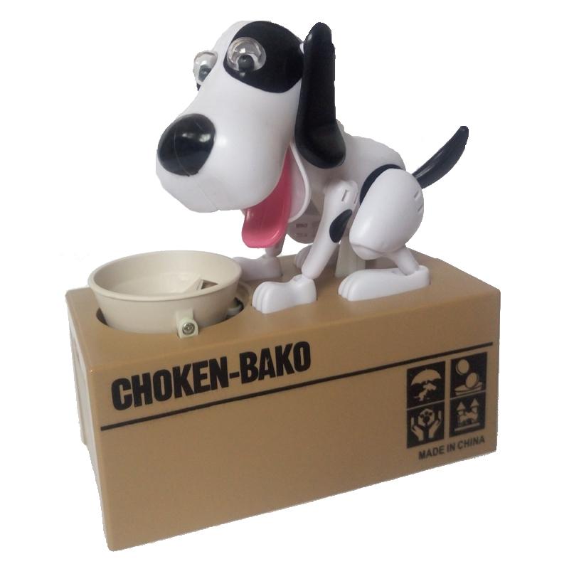 [해외]소설은 전기 장난감 돈을 장난감 장난감 BJD figture 모델 돈을 냄비 brinquedos 2018 년 마스코트 완구 어린이를장난감 선물/Novel electric eating money dog toys BJD figture model money pots