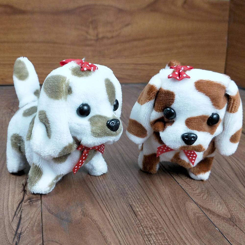 [해외]귀여운 걷는 장난감 재미 있은 전기 단발 전기 이동 개 어린이 키즈 장난감 짖는/Cute Walking Barking Toy Funny Electric Short Floss Electric Moving Dog Children Kids Toys