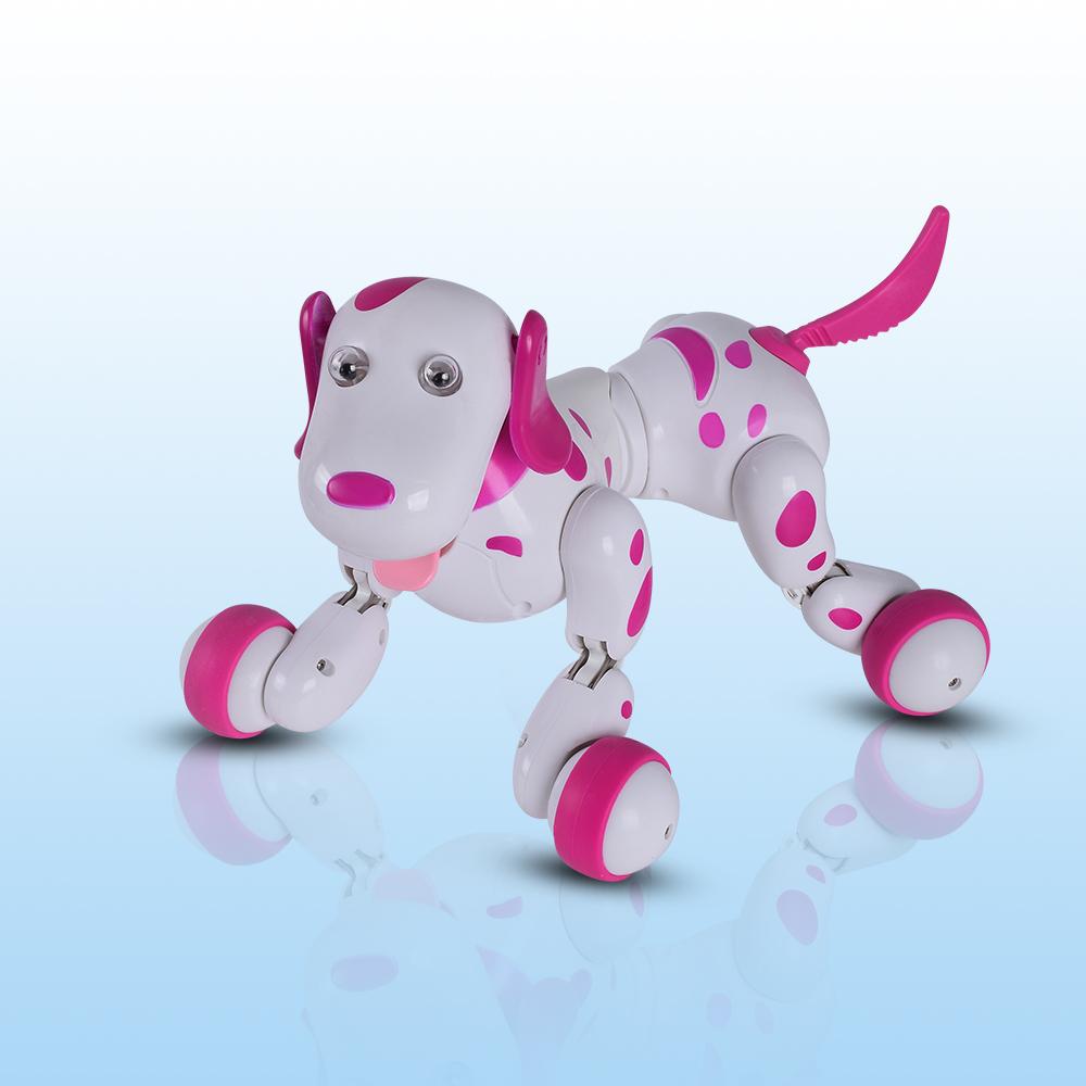 [해외]RC 워킹 개 2.4G 무선 원격 제어 스마트 개 전자 애완 동물 교육 어린이 & 장난감 로봇 개 생일 선물/RC walking dog 2.4G Wireless Remote Control Smart Dog Electronic Pet Educational