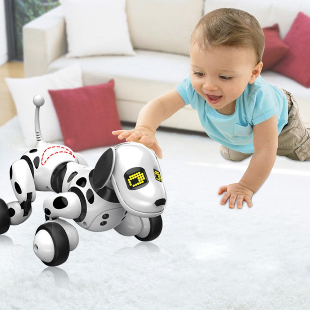 [해외]2.4G 무선 원격 제어 스마트 강아지 전자 애완 동물 교육 어린이 & 장난감 춤 로봇 강아지 상자 생일 선물없이/2.4G Wireless Remote Control Smart Dog Electronic Pet Educational Children&s T