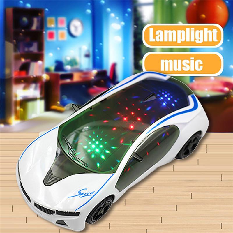 [해외]3D 수퍼 카 스타일 - 전동식 장난감 라이트 및 뮤직 - 아동 소년 소녀 선물/3D Supercar Style- Electric ToyWheel Lights&Music -Kids Boys Girls Gift