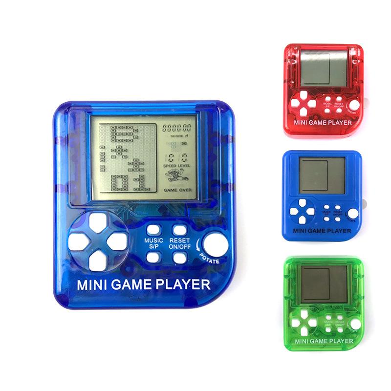 [해외]26 Tetris 게임 미니 전자 애완 동물 장난감 휴대용 게임 콘솔 어린이 장난감/26 Tetris Games Mini Electronic Pet Toy Hand-held Game Console Children Toys