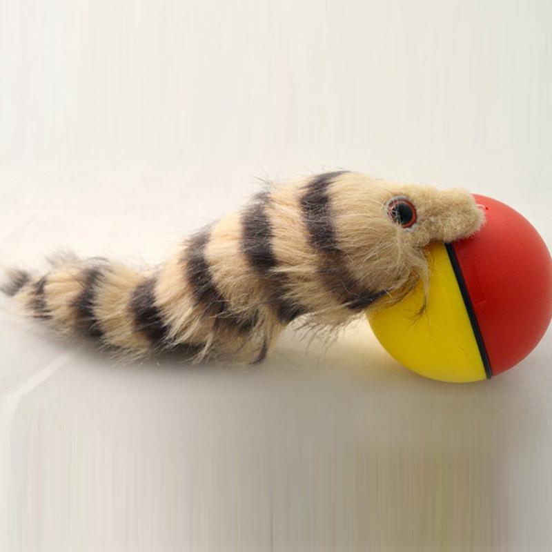 [해외]애완 동물 고양이 개를1PCS 고양이 장난감 비버 족제비 롤링 모터 볼 장난감 재미있는 이동 체이서 애완 동물 제품 점프 어린이/1Pcs Cat Toys Beaver Weasel Rolling Motor Ball Toy for Pet Cat Dog Kids Ju