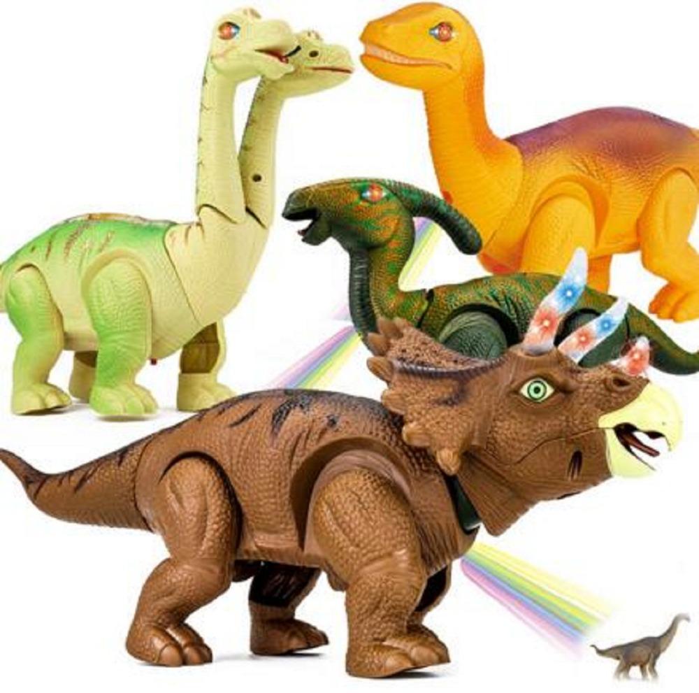 [해외]전기 걷는 공룡 장난감 계란 배치 장난감에 대 한 빛나는 공룡 음향 동물 모델 장난감 어린이 장난감 쌍방향 장난감/Electric Walking Dinosaur Toys Lay an eggs Glowing DinosaursSound Animals Model To